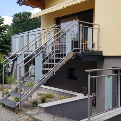 Terrasse Mit Geländer aluminium geländer terrasse | metalltechnik kainz